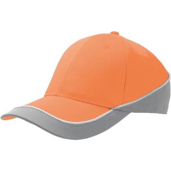 Accessoires Schirmmütze Atlantis Racing Orange/Grau