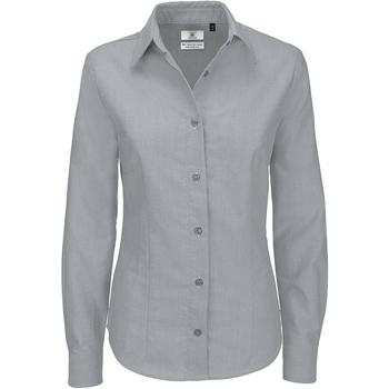 Kleidung Damen Hemden B And C SWO03 Silbermond