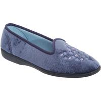 Schuhe Damen Hausschuhe Sleepers  Blaubeere