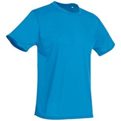 Kleidung Herren T-Shirts Stedman  Hawaii Blau