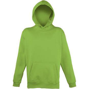 Kleidung Kinder Sweatshirts Awdis JH04J Leuchtgrün