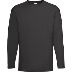 Kleidung Herren Langarmshirts Universal Textiles 61038 Schwarz