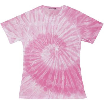 Kleidung Damen T-Shirts Colortone TD20M Spirale Pink