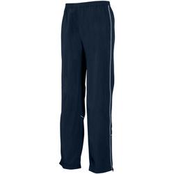 Kleidung Herren Jogginghosen Tombo Teamsport TL051 Marineblau/Marineblau/Reflektierend