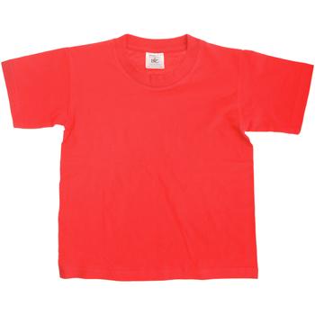 Kleidung Kinder T-Shirts B And C Exact Rot