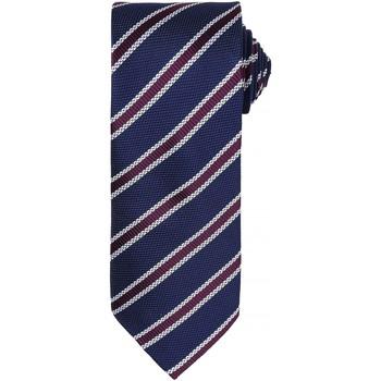 Kleidung Herren Krawatte und Accessoires Premier  Marineblau / Violett