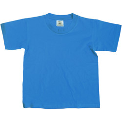 Kleidung Kinder T-Shirts B And C Exact Helltürkis