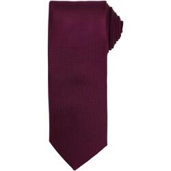 Kleidung Herren Krawatte und Accessoires Premier PR780 Aubergine