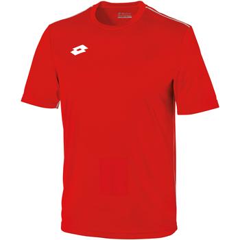 Kleidung Kinder T-Shirts Lotto LT26B Feuerrot/Weiß