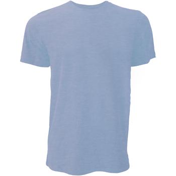 Kleidung Herren T-Shirts Bella + Canvas CA3001 Blau meliert