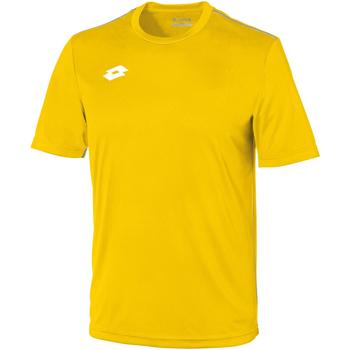 Kleidung Kinder T-Shirts Lotto LT26B Gelb/Weiß