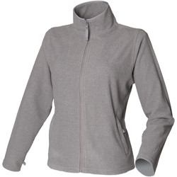 Kleidung Damen Fleecepullover Henbury HB851 Grau meliert