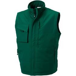 Kleidung Herren Strickjacken Russell 014M Flaschengrün