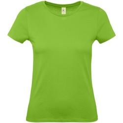 Kleidung Damen T-Shirts B And C E150 Hellgrün