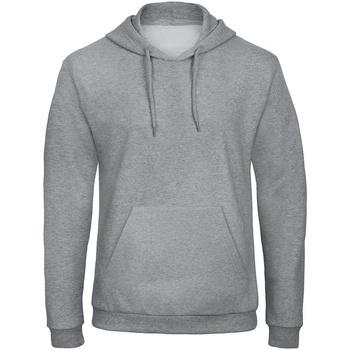 Kleidung Sweatshirts B And C ID. 203 Grau Meliert