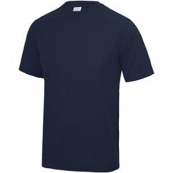 Kleidung Kinder T-Shirts Awdis JC01J Oxford Blau