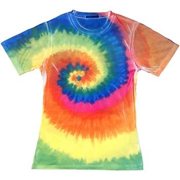 Kleidung Damen T-Shirts Colortone TD21M Regenbogen