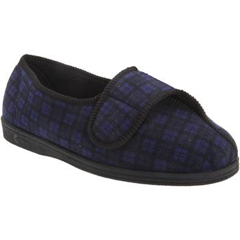 Schuhe Herren Hausschuhe Comfylux  Marineblau