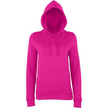 Kleidung Damen Sweatshirts Awdis Girlie Dunkles Pink