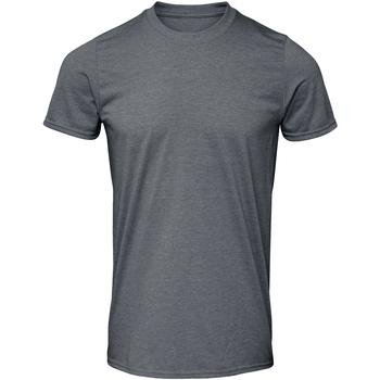 Kleidung Herren T-Shirts Gildan GD01 Dunkelgrau meliert