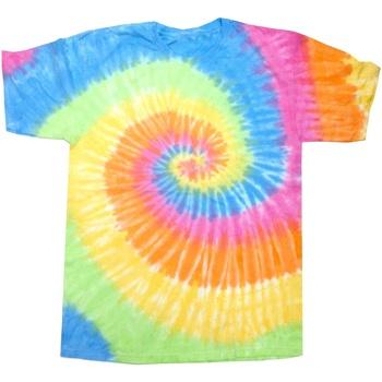 Kleidung Damen T-Shirts Colortone Rainbow Eternity