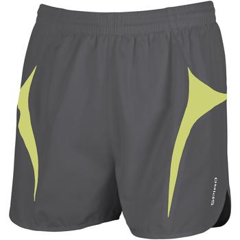 Kleidung Herren Shorts / Bermudas Spiro S183X Grau/Limette