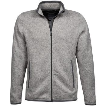 Kleidung Herren Strickjacken Tee Jays TJ9615 Grau meliert