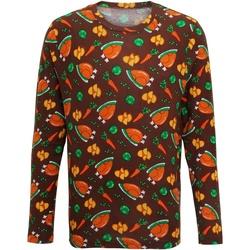 Kleidung Herren Langarmshirts Christmas Shop CS002 Braun