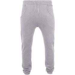 Kleidung Herren Jogginghosen Build Your Brand BY013 Grau meliert