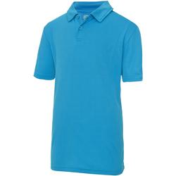 Kleidung Kinder Polohemden Awdis JC40J Saphirblau