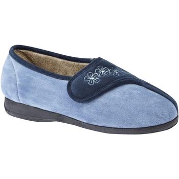 Schuhe Damen Hausschuhe Sleepers  Marineblau/Blau