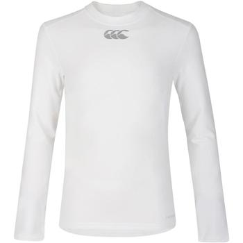 Kleidung Kinder Langarmshirts Canterbury CN360B Weiß