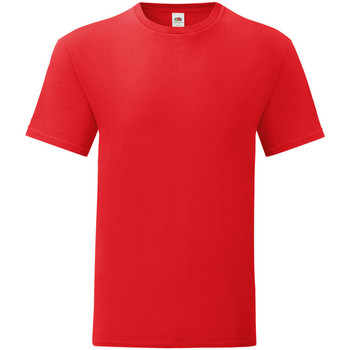 Kleidung Herren T-Shirts Fruit Of The Loom 61430 Rot