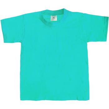 Kleidung Kinder T-Shirts B And C TK301 Türkis