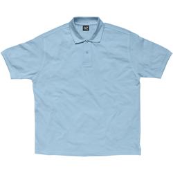 Kleidung Damen Polohemden Sg SG59F Himmelblau