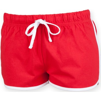 Kleidung Kinder Shorts / Bermudas Skinni Fit SM069 Rot/Weiß