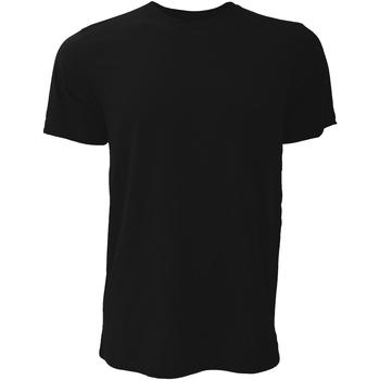 Kleidung Herren T-Shirts Bella + Canvas CA3001 Schwarz
