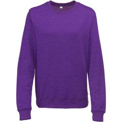 Kleidung Damen Sweatshirts Awdis JH045 Heather Violett