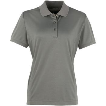 Kleidung Damen Polohemden Premier PR616 Dunkelgrau