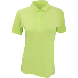 Kleidung Damen Polohemden Anvil 6280L Limette