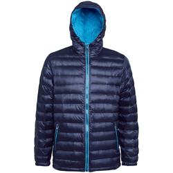 Kleidung Herren Daunenjacken 2786 TS016 Marineblau/Saphir