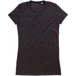 Kleidung Damen T-Shirts Stedman  Schwarz