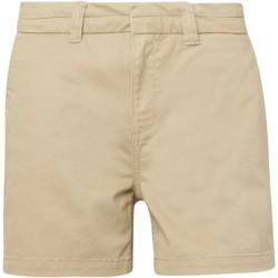 Kleidung Damen Shorts / Bermudas Asquith & Fox AQ061 Khaki