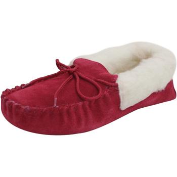 Schuhe Damen Hausschuhe Eastern Counties Leather  Purpurrot