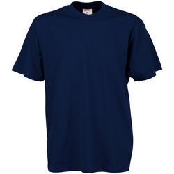 Kleidung Herren T-Shirts Tee Jays TJ8000 Marineblau
