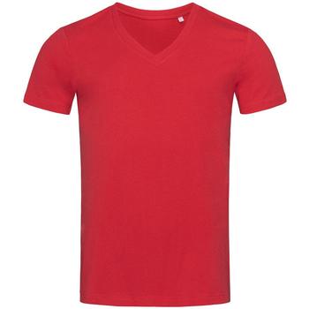 Kleidung Herren T-Shirts Stedman Stars  Paprika Rot