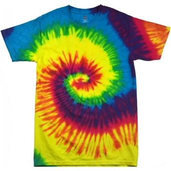 Kleidung Damen T-Shirts Colortone Rainbow Regenbogen