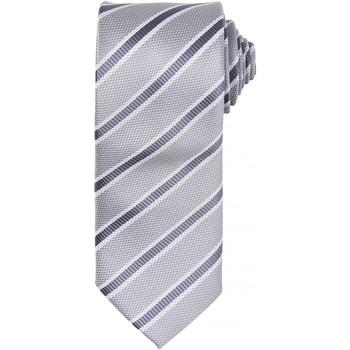 Kleidung Herren Krawatte und Accessoires Premier  Silber / Dunkelgrau