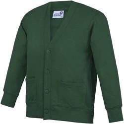 Kleidung Kinder Strickjacken Awdis  Grün