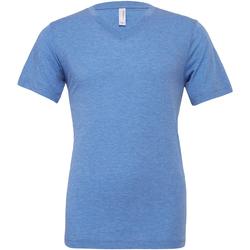 Kleidung Herren T-Shirts Bella + Canvas CA3415 Blau